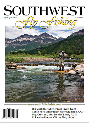 Weminuche Creek featured on the cover of Southwest Fly Fishing